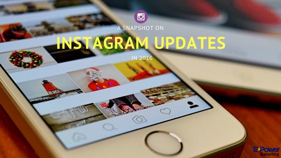 2016 Instagram Updates