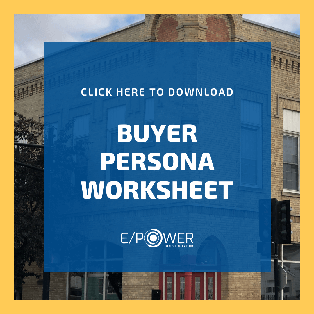 Buyer Persona Worksheet - Free Download