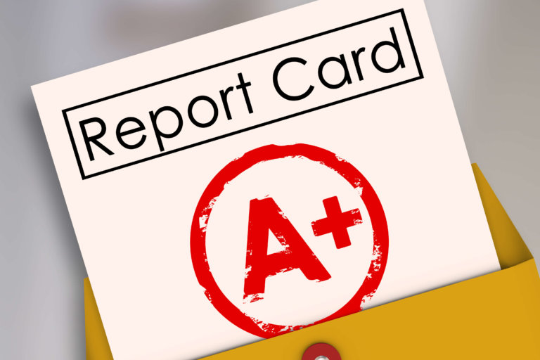 Digital Marketing Report Card