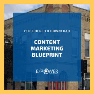 Content Marketing Blueprint - Download our free resource!