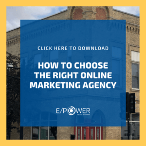 How To Choose the Right Online Marketing Agency - Download our Free Resource