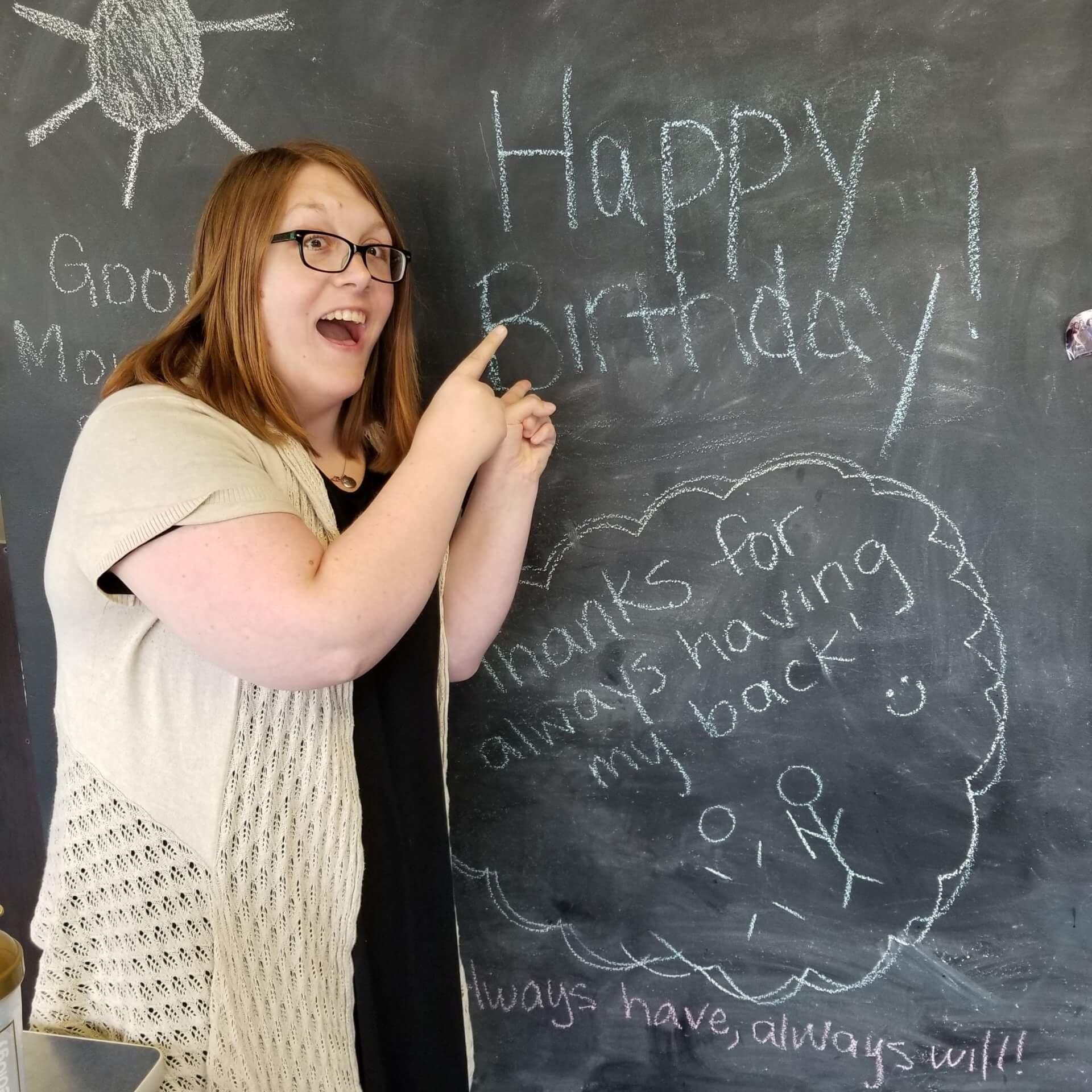 Happy Birthday, Emily Miels!