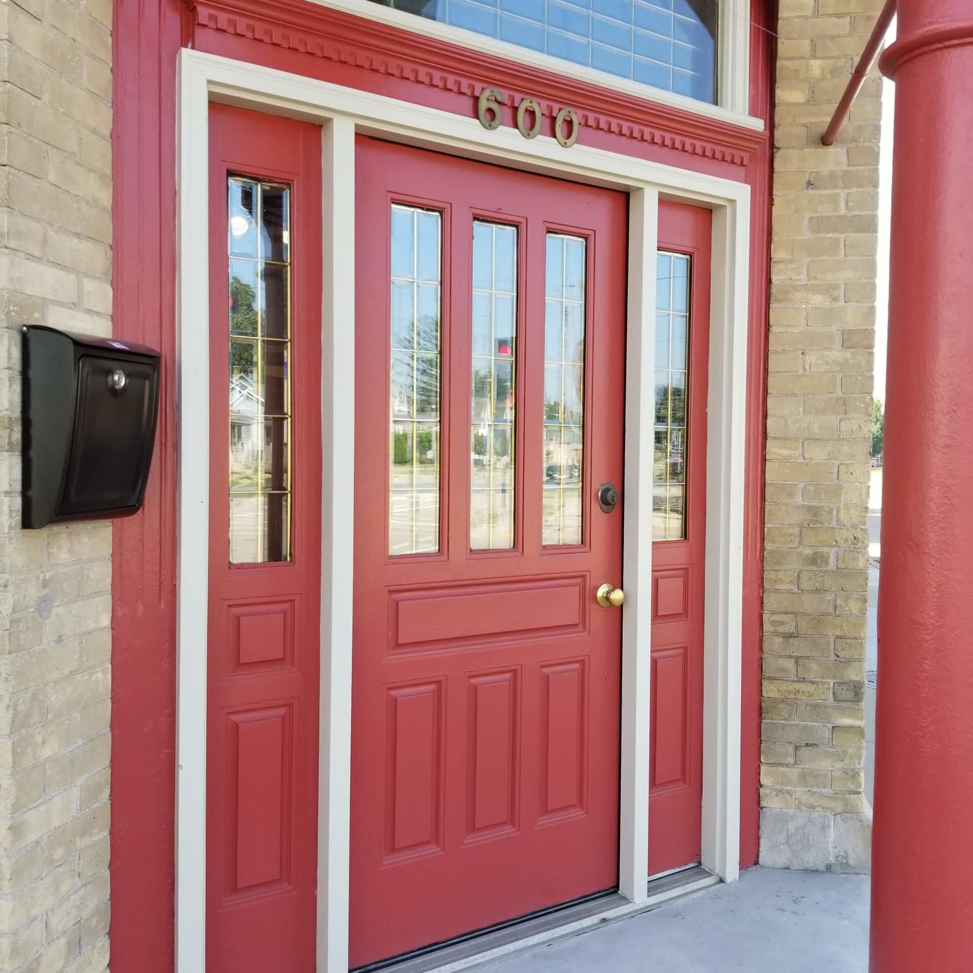 600 Ohio Street, Oshkosh, Wisconsin - E/Power Marketing's front door